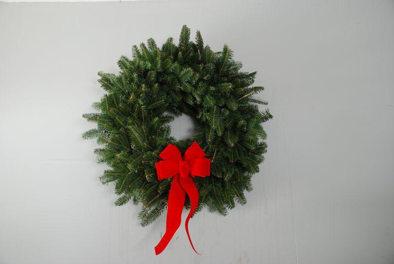 Round live wreath