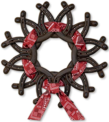 Horseshoe-wreath